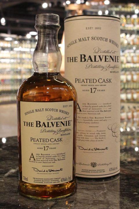Balvenie 17yr Peated Cask 百富 17年 泥煤桶 (43% 30ml)