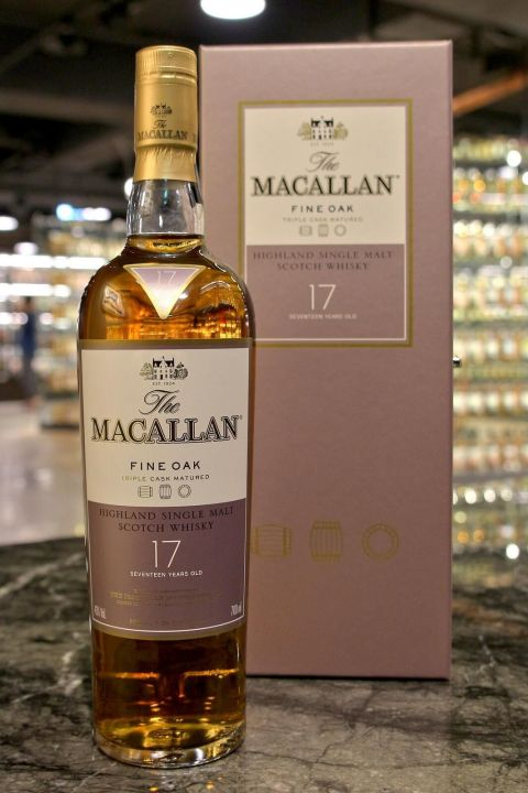 Macallan 17yr Fine Oak Triple Cask 麥卡倫 17年 黃金三桶 (43% 30ml)