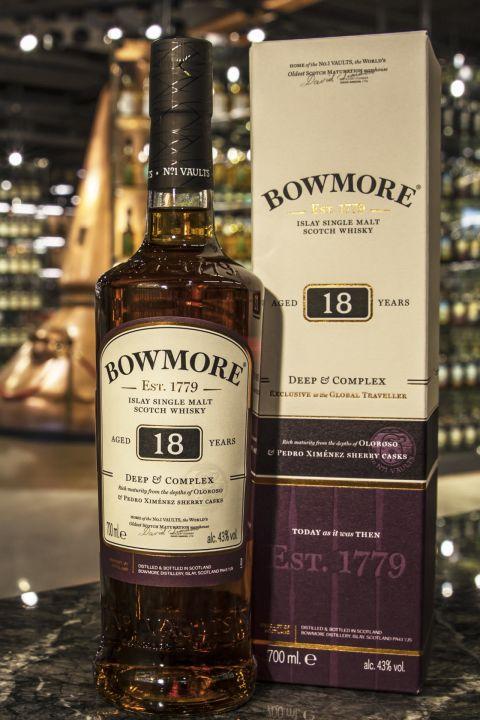 Bowmore 18yr Oloroso & PX Sherry Casks 波摩18年雙雪莉桶 Deep & Complex (43% 30ml)
