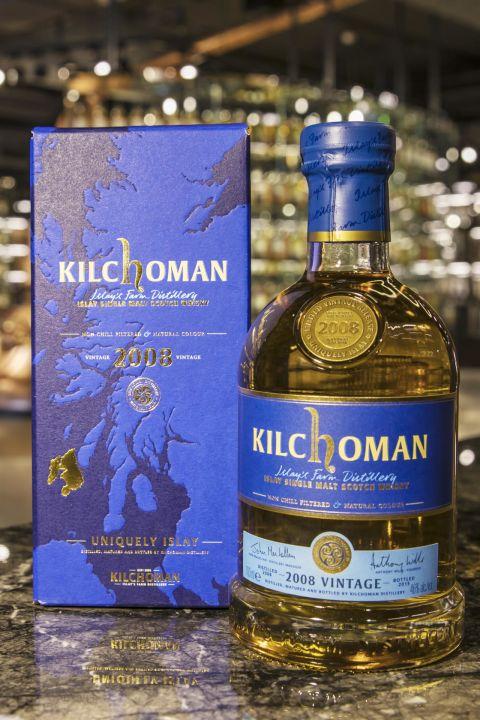 Kilchoman 2008 Vintage Bottled in 2015 齊侯門 Vt.2008 (46% 30ml)