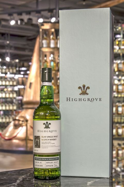 Laphroaig 12yr HIGHGROVE 1997 Single Cask 拉佛格 12年 單桶 皇室限定版 (46% 30ml)