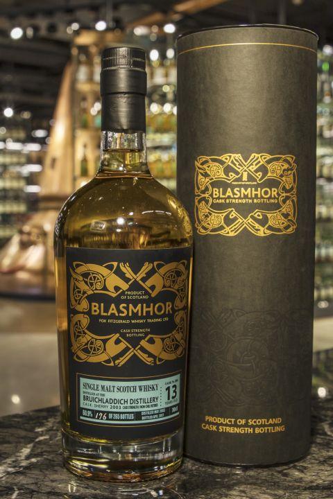 Blasmhor - Bruichladdich 13yr 2003 Sherry Cask 威仕摩 - 布萊迪 13年 單桶原酒 (60.9% 30ml)