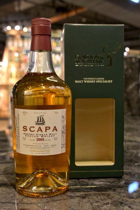 Scapa  2005 11yr - Gordon & Macphail 斯卡帕 2005 11年 LMDW 60週年版 (45% 30ml)