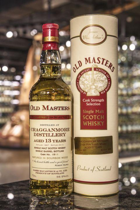 Old Masters - Cragganmore 13yr 1997 麥大師 - 克拉格摩爾 13年 波本單桶原酒 (56.9% 30ml)