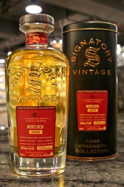 Signatory - Mortlach 2008 Bourbon Cask 聖弗力 - 慕赫 波本單桶原酒 LMDW 60週年版 (61.2% 30ml)