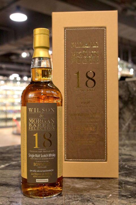 Bowmore 18yr 1998 - Wilson & Morgan 波摩 18年 雪莉桶原酒 LMDW 60週年版 (60.2% 30ml)