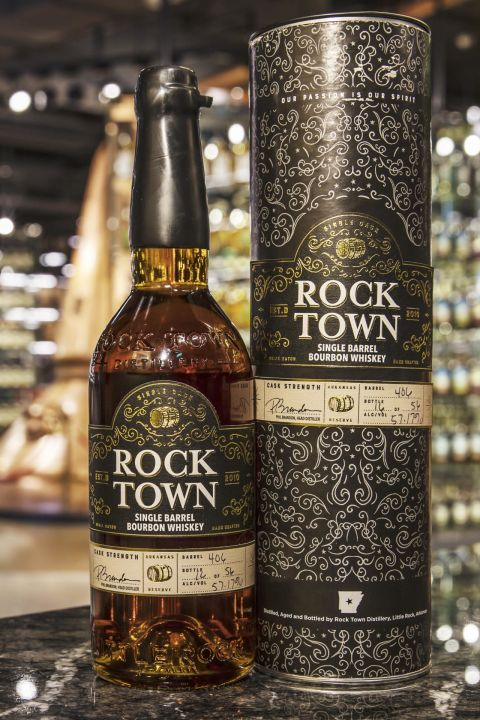 Rock Town Single Barrel Cask Strength Barrel No:406 羅克鎮 波本單桶原酒 (57.17% 30ml)