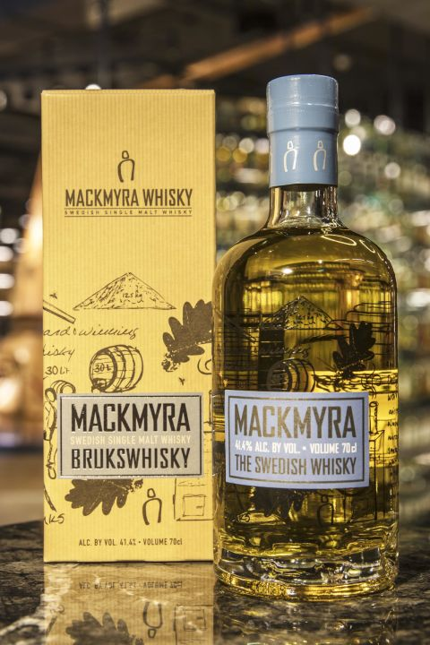 Mackmyra Drukswhisky Single Malt Whisky 麥克里拉 藍磨坊 (41.4% 30ml)