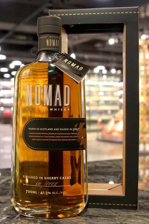 Nomad Outland Finished in Sherry Casks in Jerez 諾美 雪莉雙桶 (41.3% 30ml)