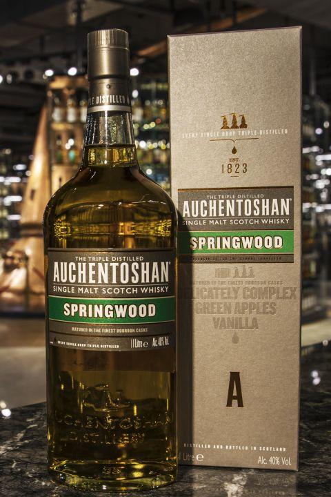 Auchentoshan Spring Wood Bourbon Casks 歐肯特軒 春材 波本桶 (40% 30ml)