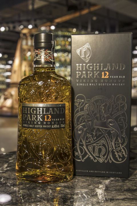 Highland Park 12yr Viking Honour 高原騎士 12年 新版 (40% 30ml)