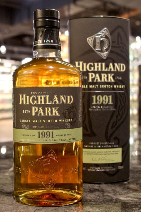 Highland Park 1991~2012 Sherry Cask  高原騎士 1991 雪莉桶 (40% 30ml)