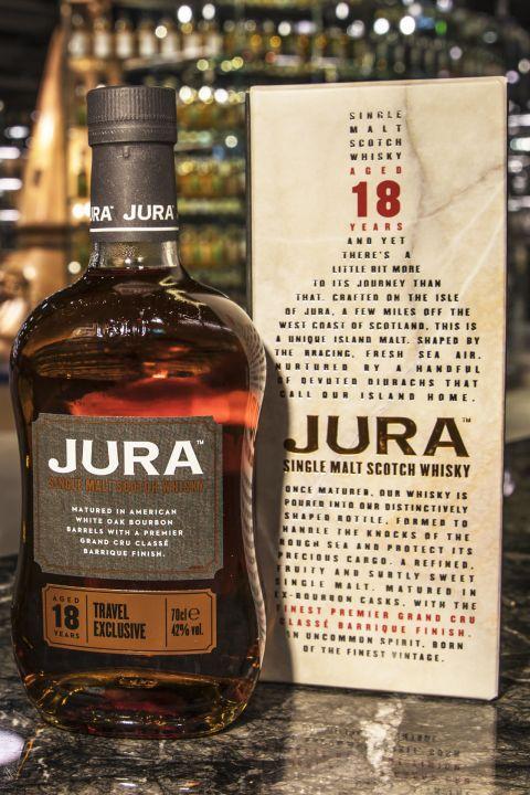 Jura 18yr American White Oak Bourbon Barrels 吉拉 18年 波本桶 (42% 30ml)
