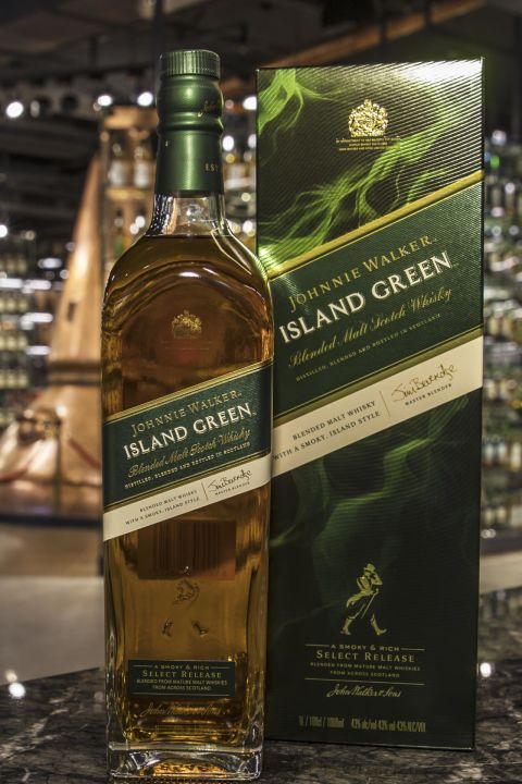 Johnnie Walker Island Green Smoky & Rich Select Release  約翰走路 綠島煙燻 (43% 30ml)