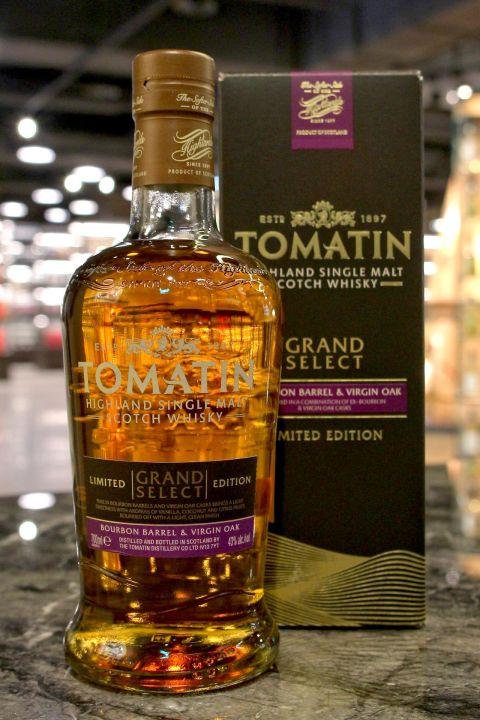 Tomatin Grand Select Bourbon Barrel & Virgin Oak 湯馬丁 雙桶 限定版 (43% 30ml)