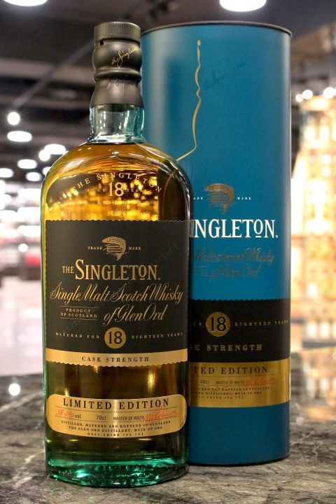 Singleton of Glen Ord 18yr Cask Strength 蘇格登 18年 原酒 限量版 (58.4% 30ml)