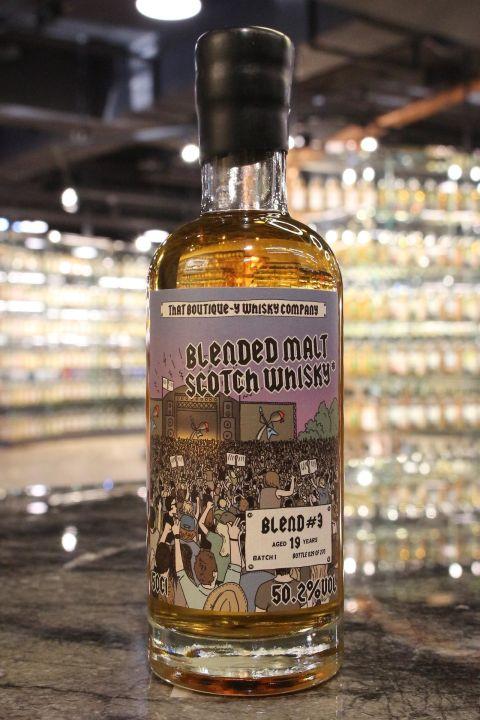 That Boutique-Y Blended#3 19yr Batch:1 蘇格蘭純麥調和 19年 第一版 (50.2% 30ml)