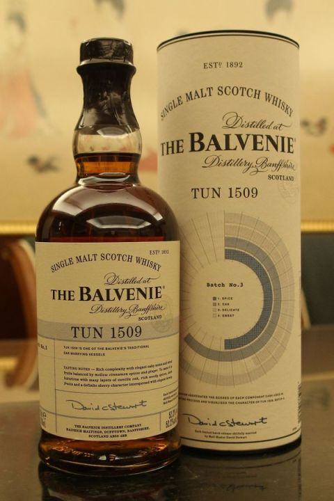 Balvenie Tun 1509 Batch No.3 百富 1509號桶 第三批次 (52.2% 30ml)