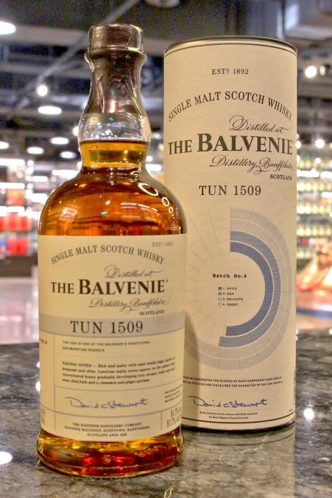 Balvenie Tun 1509 Batch No.4 百富 1509號桶 第四批次 (51.7% 30ml)