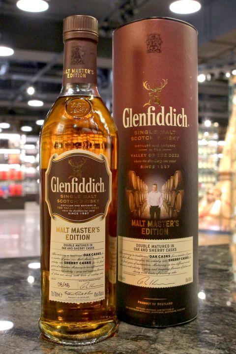 Glenfiddich Malt Master's Edition 格蘭菲迪 首席調酒師限定版 (43% 30ml)