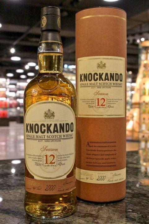 Knockando 12yr 2000 Teason Bourbon Cask  洛坎多 12年 Teason 波本桶 (43% 30ml)