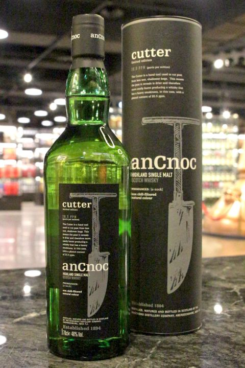 anCnoc Cutter Limited Edition 20.5PPM  安努克 Cutter 限定版 (46% 30ml)