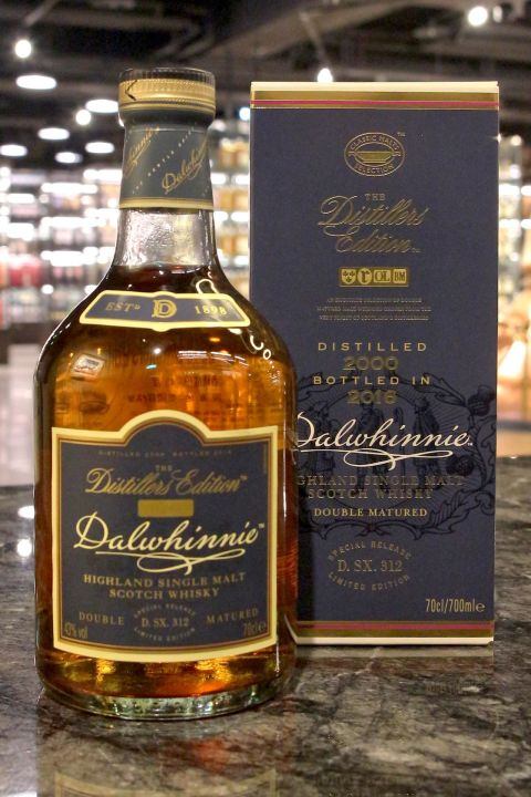Dalwhinnie 2000-2016 Double Matured 達爾維尼 16年 限定版 (43% 30ml)