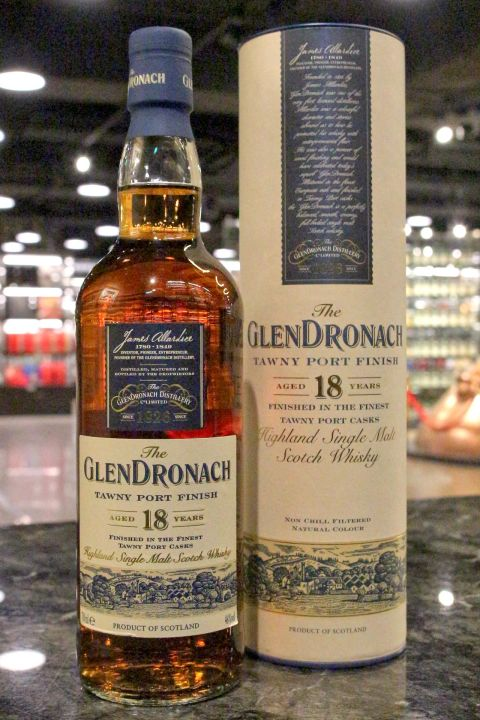 GlenDronach 18yr Tawny Port Casks Finish 格蘭多納 18年 褐色波特桶 (46% 30ml)