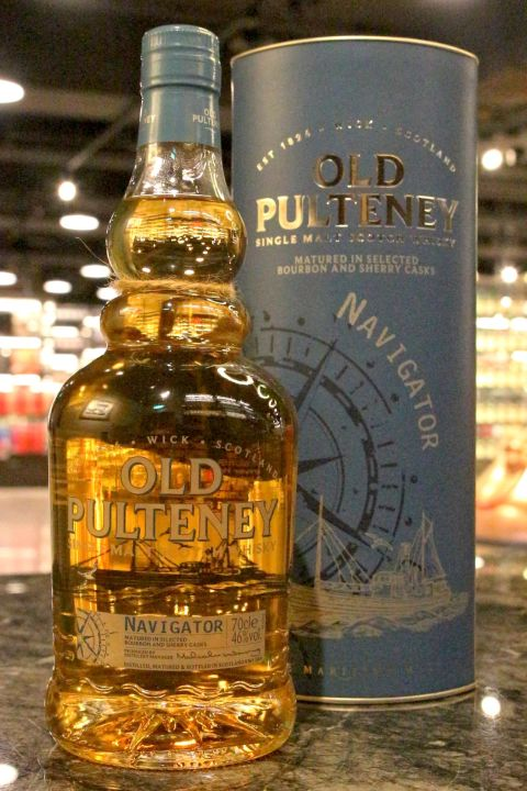 Old Pulteney Navigator Bourbon & Sherry Casks 富特尼 領航者 (46% 30ml)