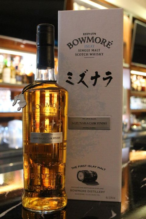 Bowmore Mizunara Cask Finish 波摩 水楢桶 (53.9% 30ml)