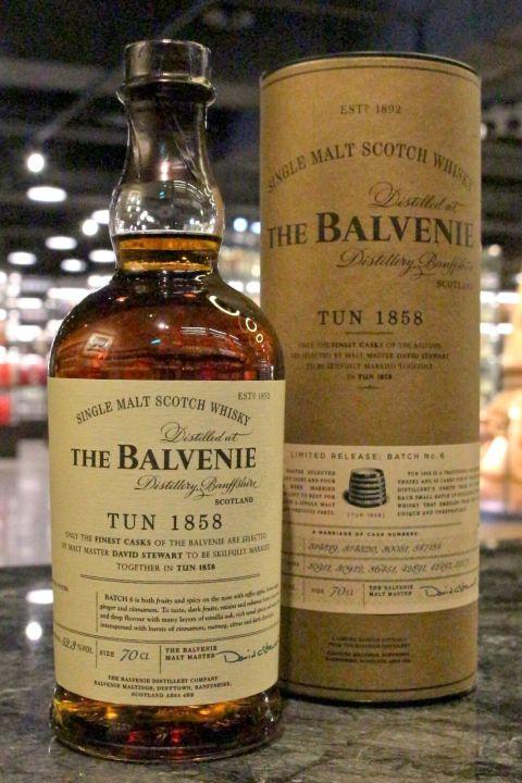 Balvenie Tun 1858 Batch No.6 百富 1858號桶 第六批次 (52.3% 30ml)