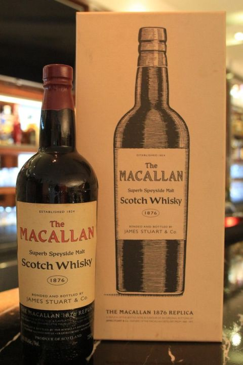 Macallan 1876 Replica Speyside Malt 麥卡倫 1876  復刻版 風華系列 (40.6% 30ml)