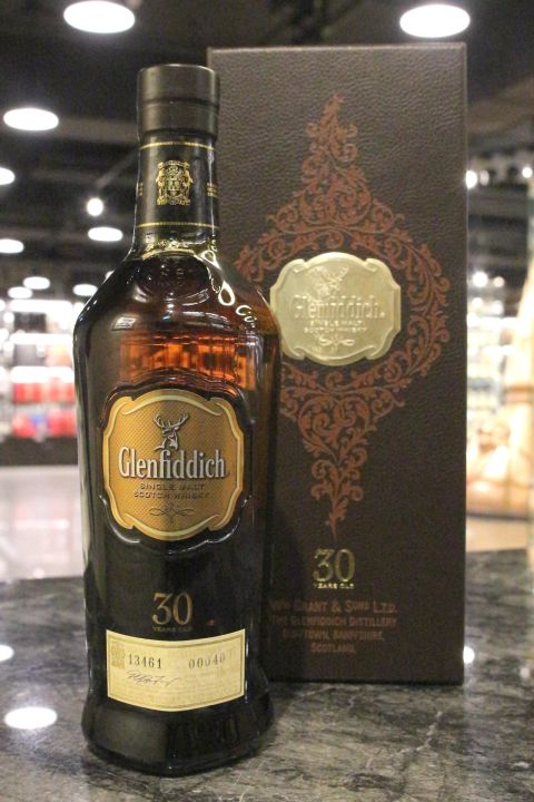 Glenfiddich 30yr Cask Selection # 40 格蘭菲迪 30年 單桶 (43% 30ml)