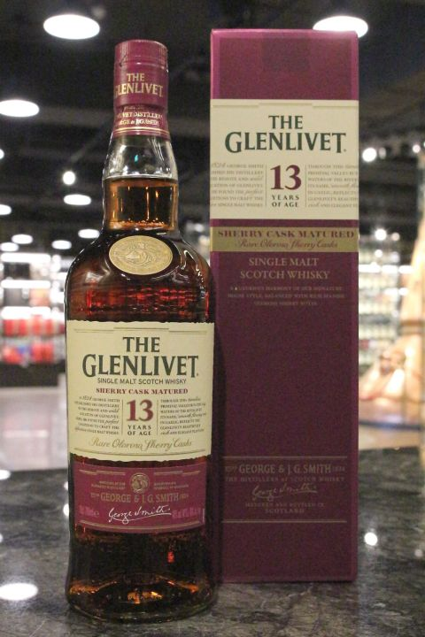 Glenlivet 13yr Rare Oloroso Sherry Casks Mattured 格蘭利威 13年 雪莉桶 (40% 30ml)