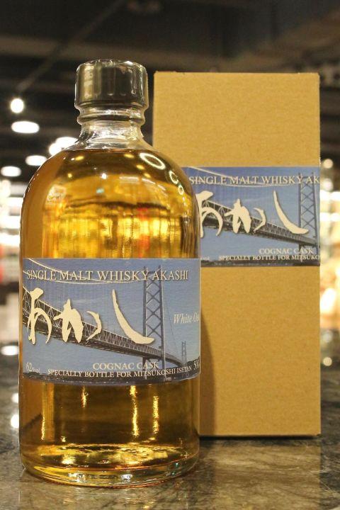 Akashi 5yr White Oak Single Cognac Cask 明石 5年 伊勢丹限定 干邑單桶 (62% 30ml)