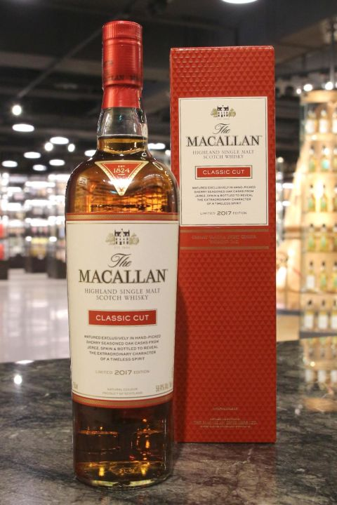 Macallan 2017 Classic Cut Limtied Edition 麥卡倫 2017 經典調味桶限量版 (58.4% 30ml)