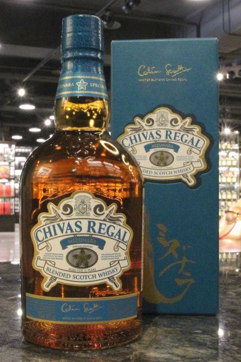 Chvas Regal 12yr Mizunara Cask Special Edition 起瓦士 12年 水楢桶特別版 (40% 30ml)