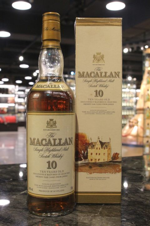 Macallan 10yr Matured in Sherry Oak Casks From Jerez 麥卡倫 10年 舊版 (40% 15ml)