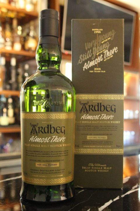 Ardbeg 1998~2007 Almost there 阿貝 青春系列 Almost there (54.1% 30ml)