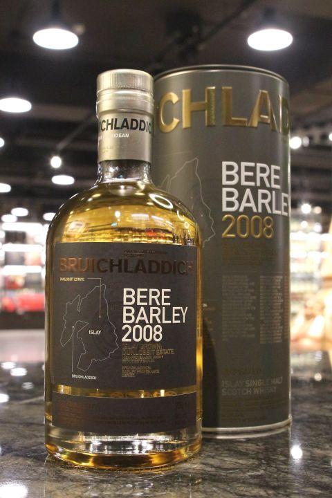 Bruichladdich 2008 Bere Barley Unpeated 布萊迪 2008 畢爾古代 艾雷島大麥 (50% 30ml)