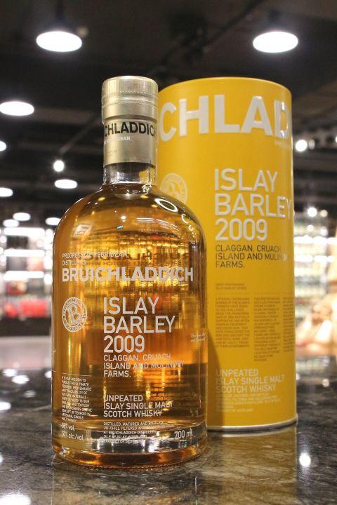Bruichladdich 2009 Islay Barley Unpeated 布萊迪 2009 萊迪 艾雷島大麥 (50% 30ml)