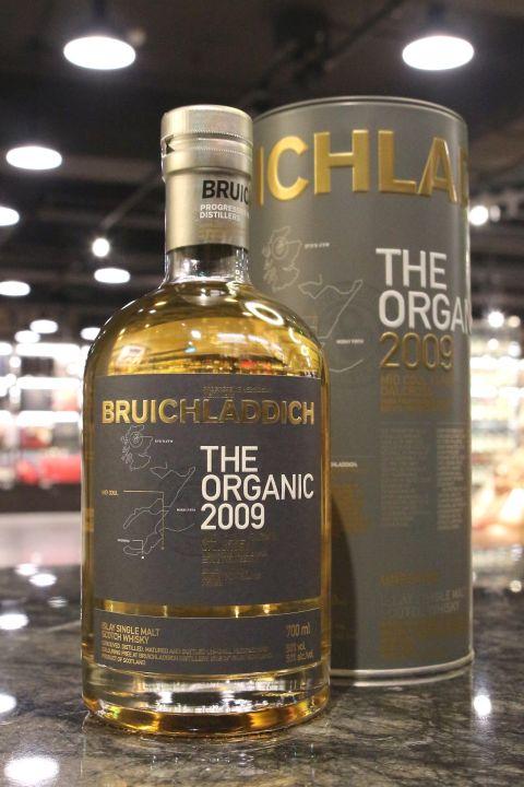 Bruichladdich 2009 The Organic Unpeated 布萊迪 2009 有機大麥 (50% 30ml)
