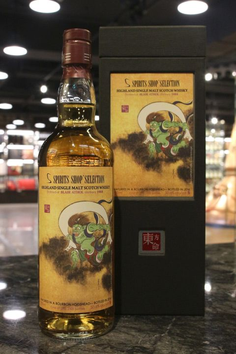 Spirits Shop' Selection Blair Athol 1988 Bourbon Cask 東方命 布萊爾阿蘇 1988 波本桶 (50.6% 30ml)
