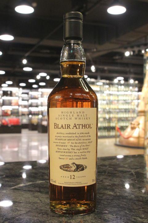 Blair Athol 12yr Flora & Fauna 布萊德阿蘇 12年 (43% 30ml)