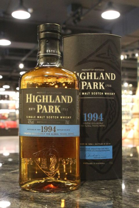 Highland Park 1994-2010 Global Travel Retail  Exclusive 高原騎士 16年 全球旅行版 (40% 30ml)