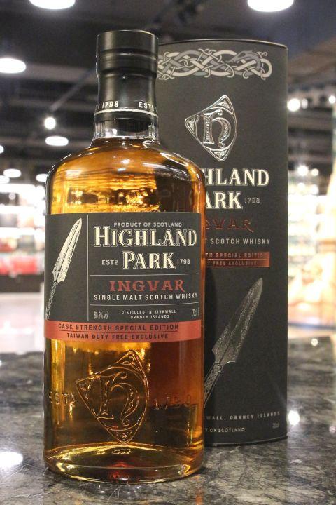 Highland Park Ingvar Cask Strength 高原騎士 神槍 台灣限定版 原酒 (60.5% 30ml)