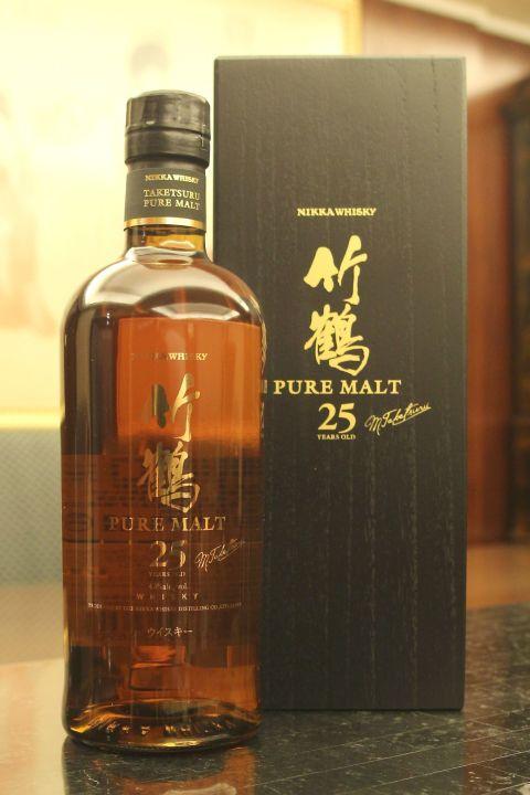 Nikka Taketsuru 25yr  竹鶴 25年 (43% 30ml)
