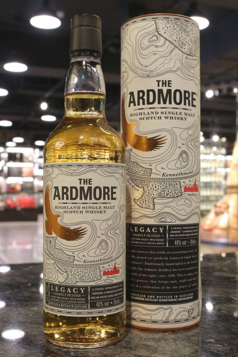 Ardmore Legacy Lighty Peated 亞德摩爾 傳承 (40% 30ml)