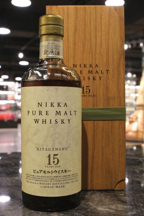 Nikka Kitagenshu 15yr Pure Malt 日嘉 15年 北原酒 純麥 (43% 30ml)