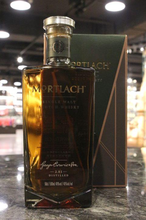 Mortlach Special Strength 2.81 Distilled  慕赫 2.81 特別版原酒 (49% 30ml)